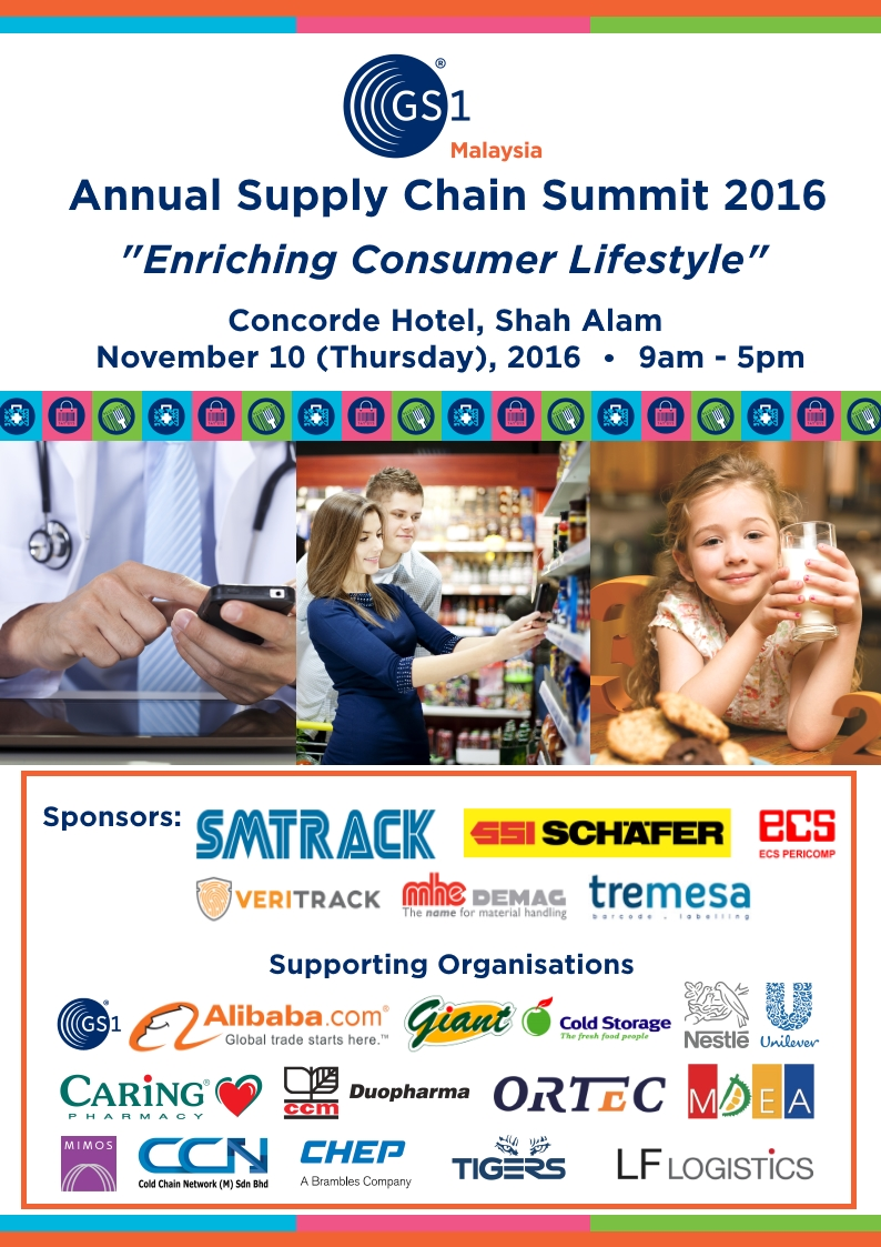 GS1 Malaysia Annual Supply Chain Summit 2016 (Post-Event